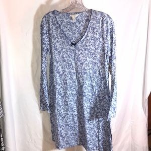 🌀 Charter Club Sleepwear Floral Nightgown NWT